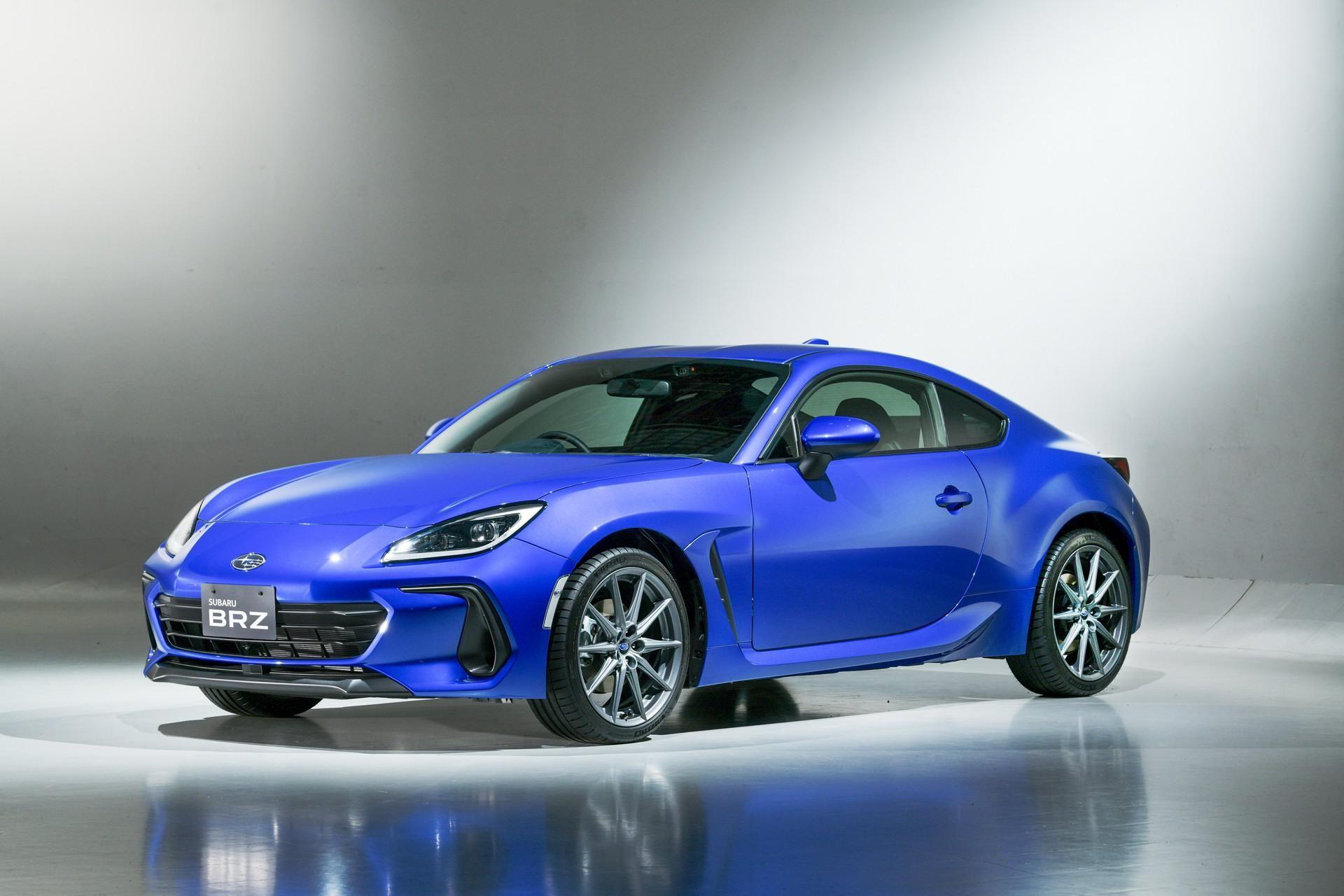 Bộ sưu tập: Subaru BRZ 2022 ra mắt tại Nhật Bản ảnh 3