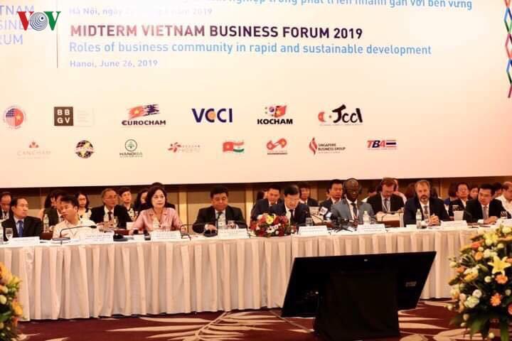 VBF 2019: Chính phủ ưu tiên hỗ trợ doanh nghiệp phát triển bền vững ảnh 1