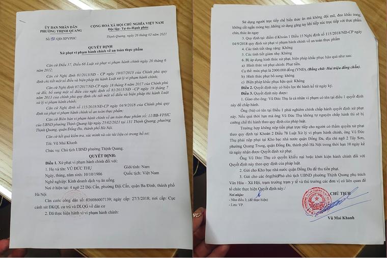 Xử phạt cơ sở Bếp Hoa vì mất vệ sinh trong chế biến thực phẩm ảnh 2