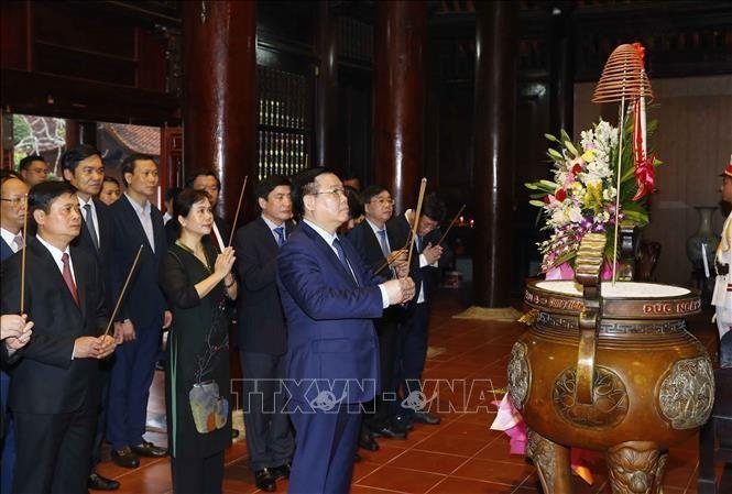 Chủ tịch Quốc hội Vương Đình Huệ thăm và làm việc tại tỉnh Nghệ An ảnh 2