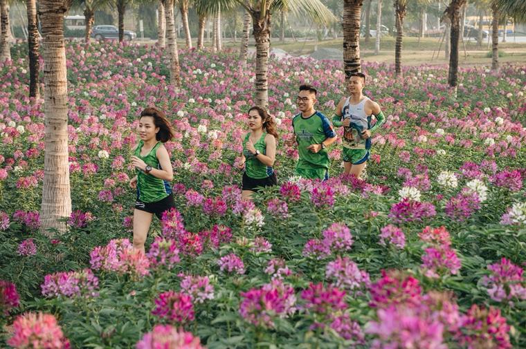 Ecopark Marathon 2021 - Ngắm cung đường chạy giữa thiên nhiên 'siêu chất' trước giờ G ảnh 5