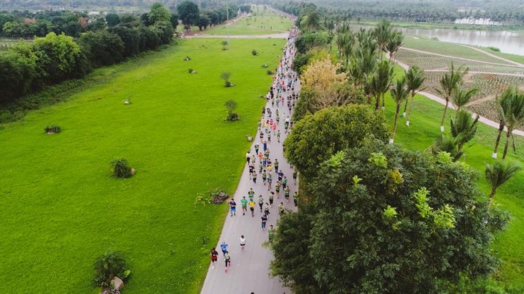Ecopark Marathon 2021 - Ngắm cung đường chạy giữa thiên nhiên 'siêu chất' trước giờ G ảnh 7