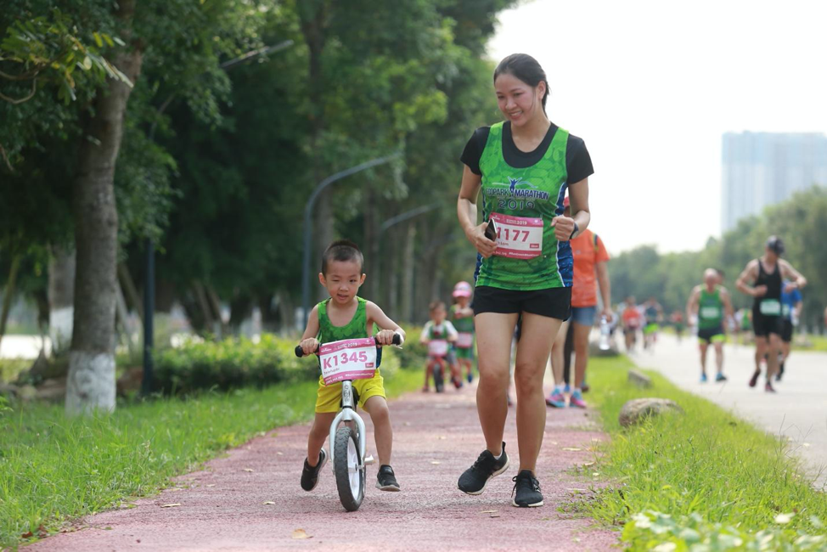 Ecopark Marathon 2021 - Ngắm cung đường chạy giữa thiên nhiên 'siêu chất' trước giờ G ảnh 8