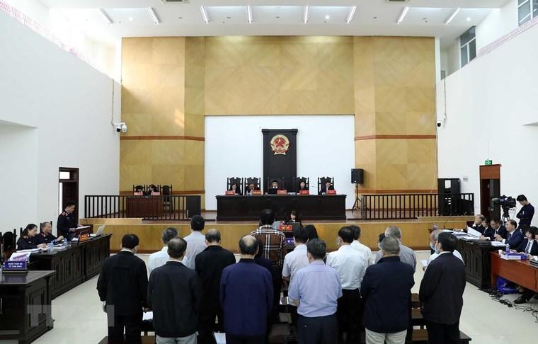Những điểm nhấn trong phiên tòa sơ thẩm vụ Gang thép Thái Nguyên ảnh 1