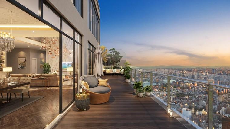 """Mãn nhãn tầm nhìn """"triệu đô"""" từ căn hộ panorama The Matrix One ảnh 2"""