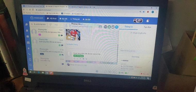 QLTT Hà Nội 'đột kích' cơ sở lớn chuyên kinh doanh hàng giả qua facebook ảnh 4