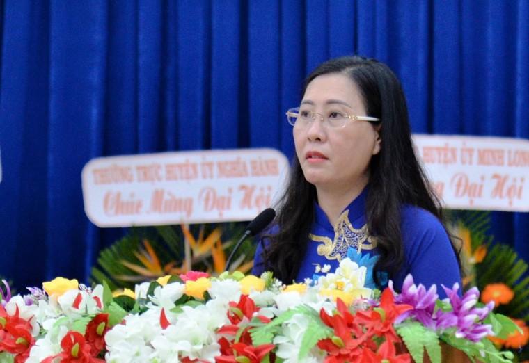 Bà Bùi Thị Quỳnh Vân được bầu giữ chức Bí thư Tỉnh ủy Quảng Ngãi ảnh 3