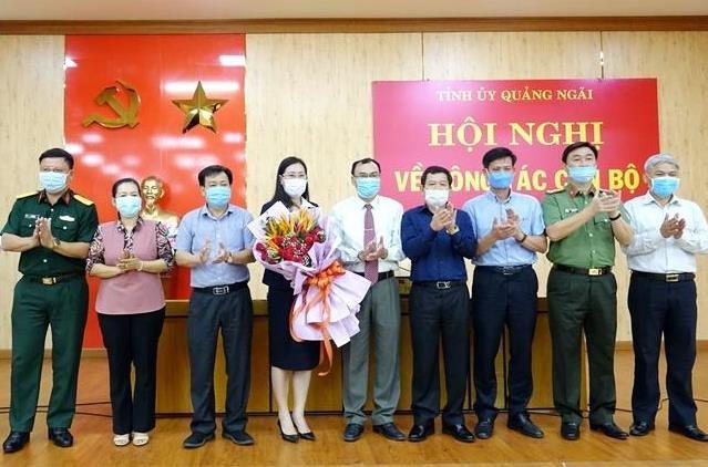 Bà Bùi Thị Quỳnh Vân được bầu giữ chức Bí thư Tỉnh ủy Quảng Ngãi ảnh 2