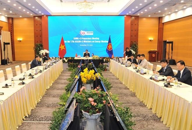 Họp trù bị cho Hội nghị Bộ trưởng Năng lượng ASEAN +3 ảnh 2