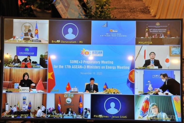 Họp trù bị cho Hội nghị Bộ trưởng Năng lượng ASEAN +3 ảnh 1