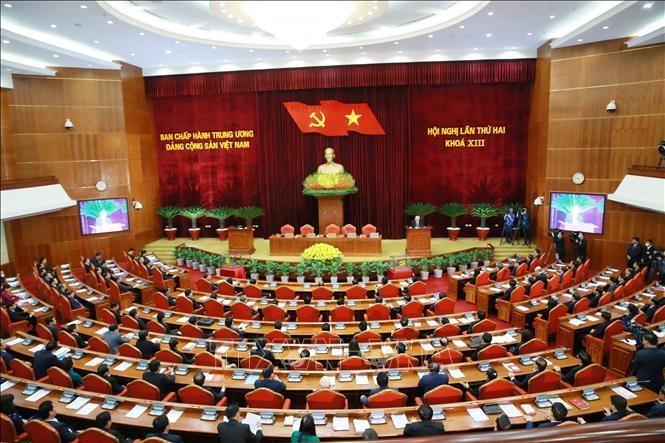 Bế mạc Hội nghị Trung ương 2: Kiện toàn các chức danh lãnh đạo cơ quan nhà nước ảnh 2
