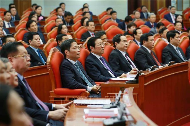 Bế mạc Hội nghị Trung ương 2: Kiện toàn các chức danh lãnh đạo cơ quan nhà nước ảnh 3