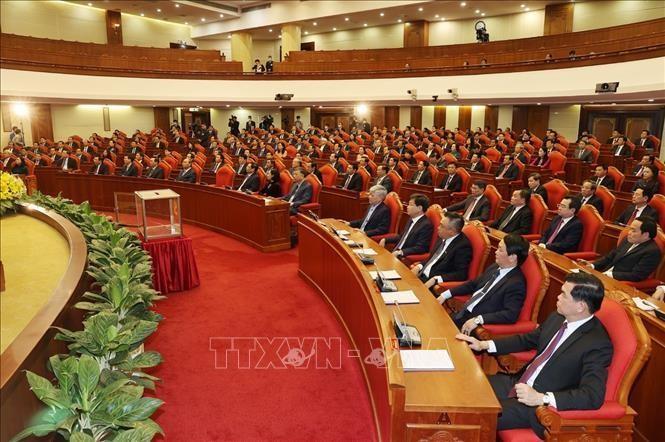 Bế mạc Hội nghị Trung ương 2: Kiện toàn các chức danh lãnh đạo cơ quan nhà nước ảnh 4