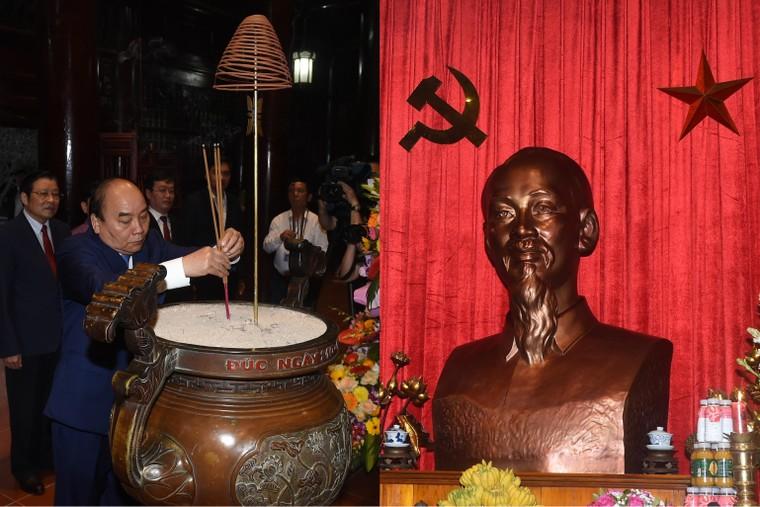 Thủ tướng dự Lễ hưởng ứng chương trình trồng 1 tỷ cây xanh tại Nghệ An ảnh 1