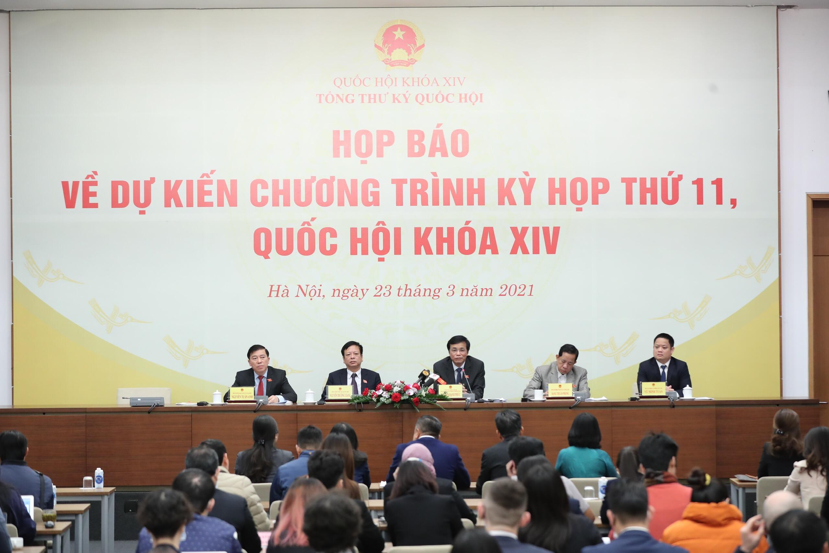 Khai mạc Kỳ họp thứ 11, Quốc hội khóa XIV ảnh 1