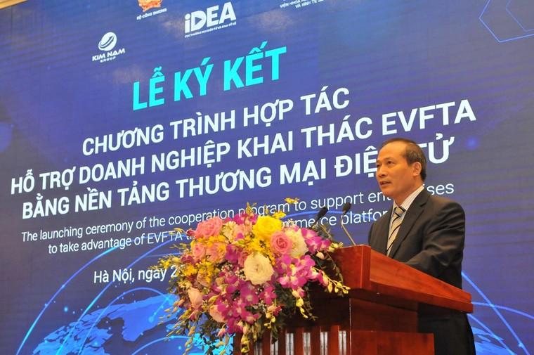 Hỗ trợ doanh nghiệp khai thác EVFTA bằng nền tảng thương mại điện tử ảnh 2