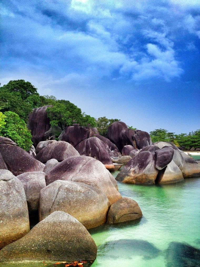 Đảo Belitong được UNESCO công nhận là Công viên địa chất toàn cầu ảnh 1