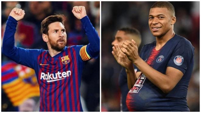 Messi bị Mbappe thu hẹp khoảng cách trong cuộc đua chiếc giày vàng ảnh 1