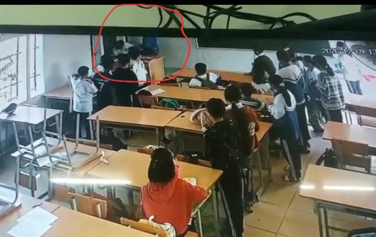 Thông tin học sinh bị phụ huynh đánh trọng thương ở Điện Biên Phủ chưa chính xác ảnh 1