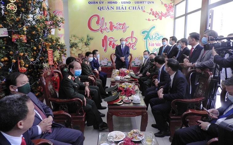 Thủ tướng Nguyễn Xuân Phúc thăm, chúc Tết tại Đà Nẵng ảnh 2