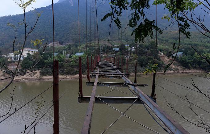 Thanh Hoá: Đề nghị khẩn trương tháo dỡ cầu treo 'tử thần' ảnh 1