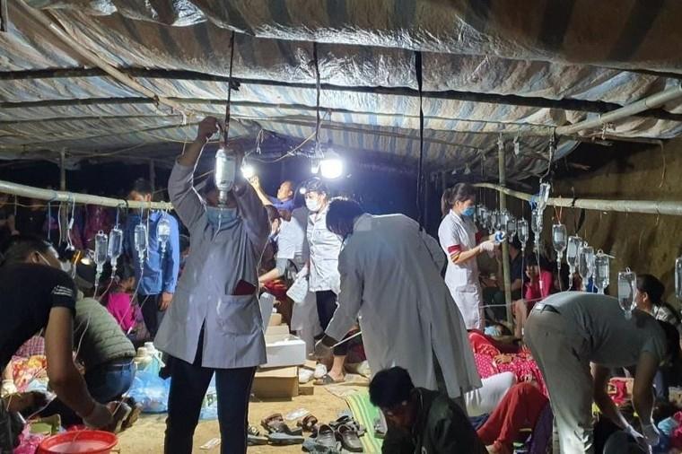 Lai Châu: Hơn 90 người ngộ độc thực phẩm sau khi ăn cỗ cưới ảnh 1