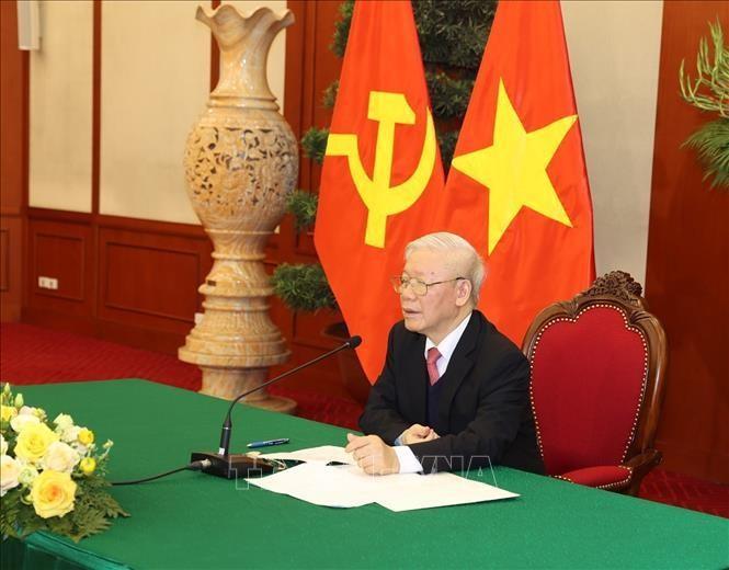 Tổng Bí thư, Chủ tịch nước Nguyễn Phú Trọng điện đàm cùng Thủ tướng Nhật Bản ảnh 1