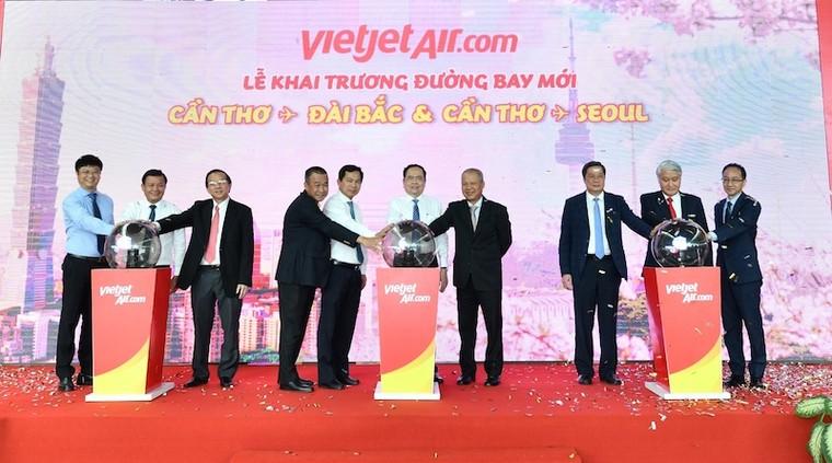 Vietjet khai trương hai đường bay kết nối Cần Thơ với Seoul, Đài Bắc ảnh 2