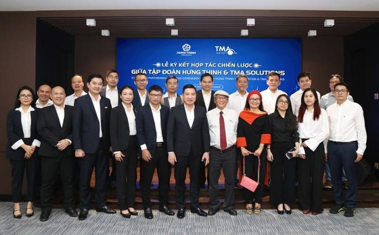 Tập đoàn Hưng Thịnh ký kết hợp tác chiến lược cùng công ty TMA Solutions ảnh 1