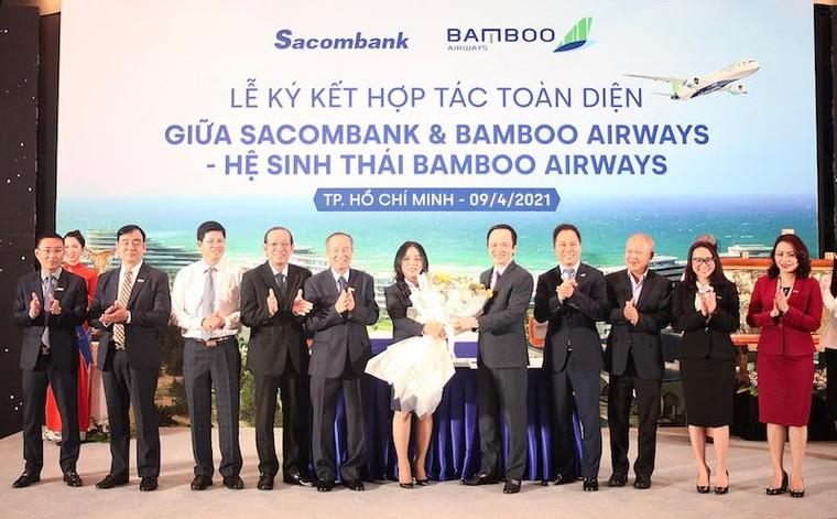 Chủ tịch STB Dương Công Minh: Bamboo Airways - Sacombank, 'hai thương hiệu – triệu giá trị' ảnh 1