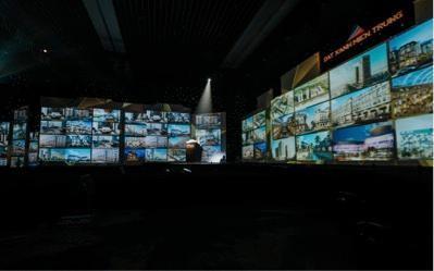 Ấn tượng sắc màu Thập kỷ 3D Mapping lần đầu tiên được trình diễn trong nhà tại Đà ảnh 3