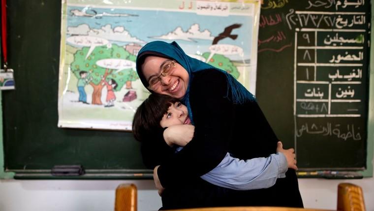 Lớp học đặc biệt tại chảo lửa Gaza ảnh 5