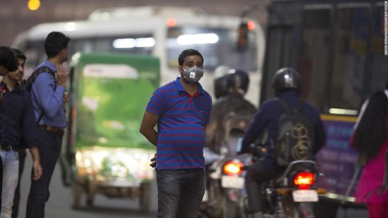 Những 'đầu tàu' công nghệ ở Ấn Độ chìm trong ô nhiễm ảnh 1