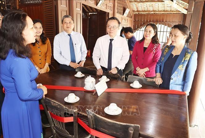Chủ tịch Quốc hội làm việc với Ban Chỉ đạo công tác bầu cử tỉnh An Giang ảnh 2