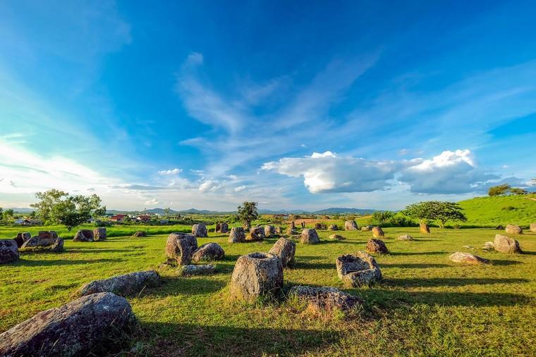 Cánh đồng Chum nước Lào ảnh 1