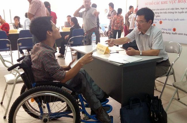 Tìm kế sinh nhai cho hơn 6,2 triệu người khuyết tật ảnh 1