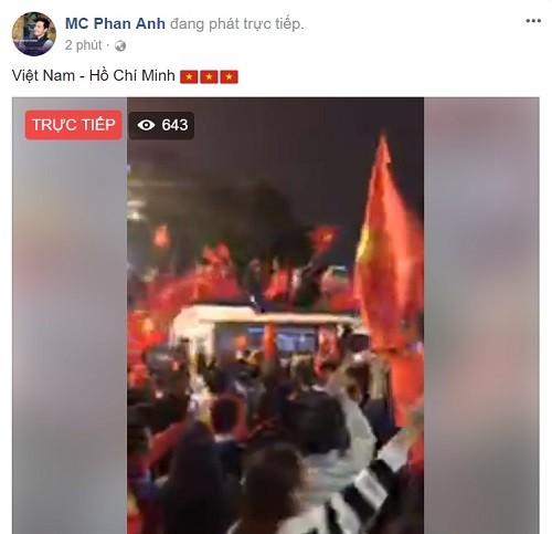 Công Vinh - Thủy Tiên và hàng loạt sao 'bùng nổ' cảm xúc sau chiến thắng của U23 Việt Nam ảnh 5