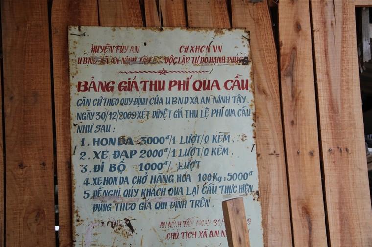 Phú Yên: Cây cầu gỗ dài nhất Việt Nam ảnh 1