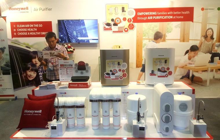 Honeywell đưa máy lọc không khí và máy lọc nước thông minh về Việt Nam ảnh 1