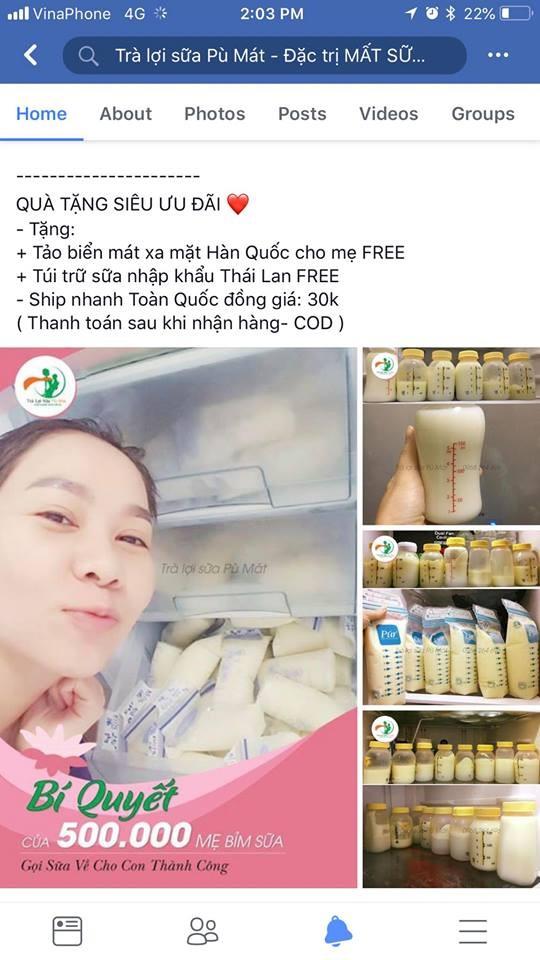 Ca sĩ Thu Minh bật khóc vì bị lợi dụng hình ảnh quảng cáo trà lợi sữa ảnh 1