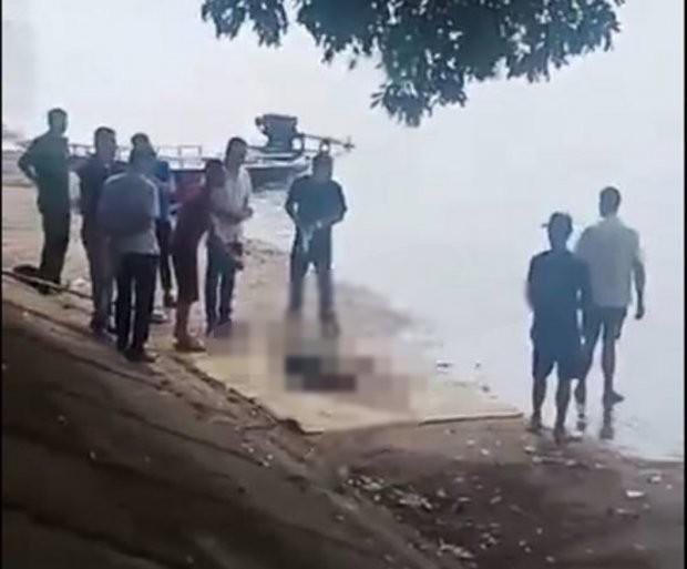 Bàng hoàng phát hiện thi thể người phụ nữ dưới hồ Linh Đàm ảnh 1