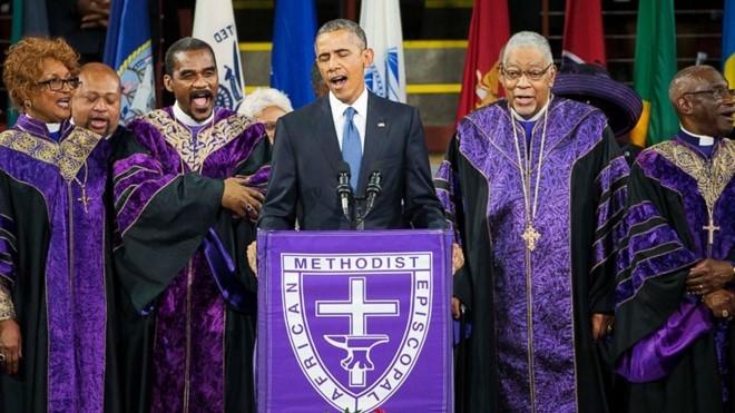 Giải mã thói quen nói ngắt quãng của Tổng thống Obama ảnh 1