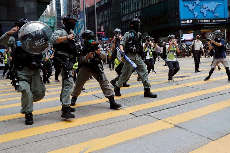 Tình hình Hong Kong căng thẳng trở lại ảnh 1