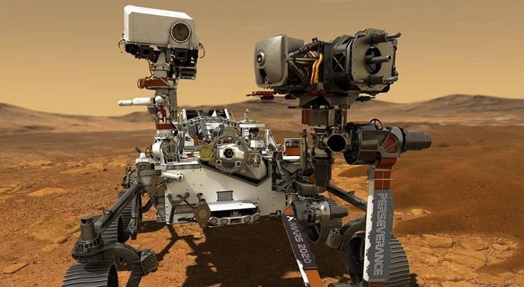 Robot của NASA đổ bộ lên sao Hỏa ảnh 1