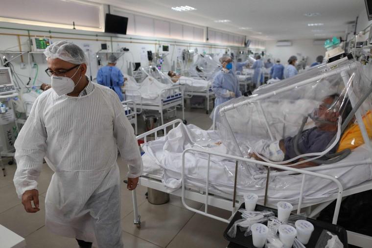 Biến thể ở Brazil lây nhiễm cho nhiều người từng mắc COVID-19 ảnh 1