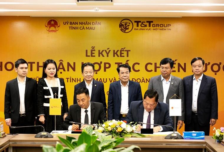 Tập đoàn T&T Group hợp tác chiến lược với Lào Cai và Cà Mau ảnh 1