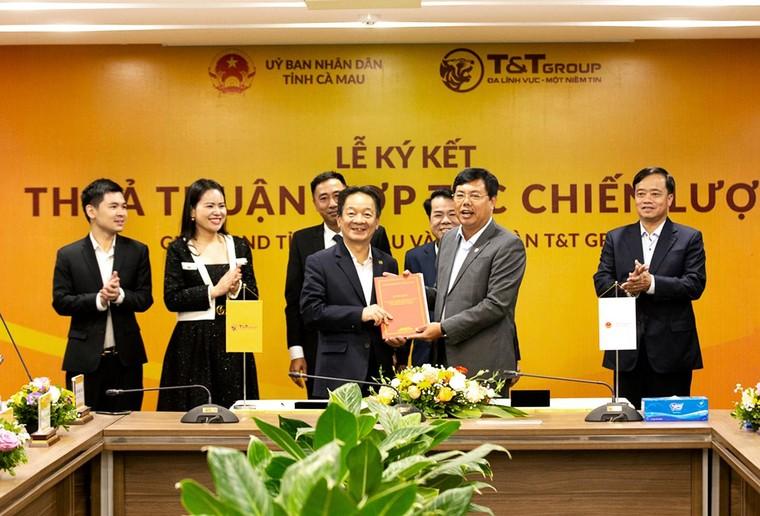 Tập đoàn T&T Group hợp tác chiến lược với Lào Cai và Cà Mau ảnh 2