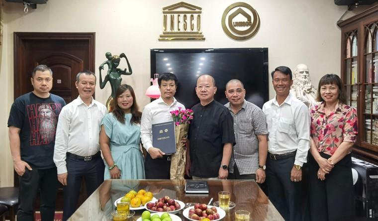Công bố quyết định bổ nhiệm ông Trần Văn Mạnh làm Tổng Biên tập Tạp chí Ngày Nay ảnh 1