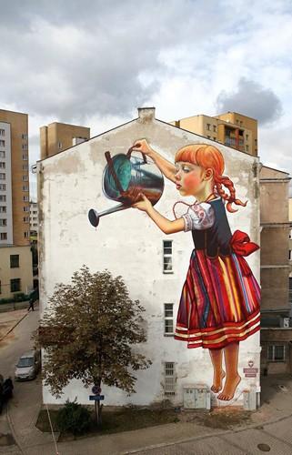 Những tác phẩm nghệ thuật đường phố khiến bạn yêu đời hơn ảnh 1