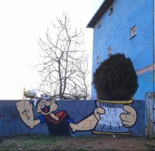 Những tác phẩm nghệ thuật đường phố khiến bạn yêu đời hơn ảnh 7